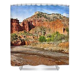 Caprock Canyon Shower Curtain