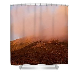 Caps Ridge Sunset Shower Curtain