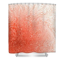 Capsicum Mist Shower Curtain