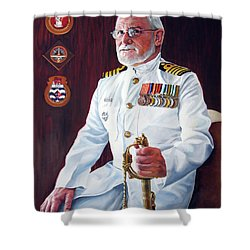 Capt John Lamont Shower Curtain