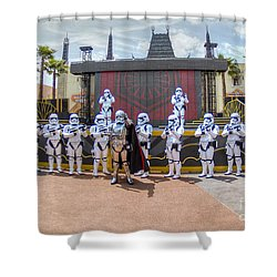 Captain Phasma And The First Order Shower Curtain