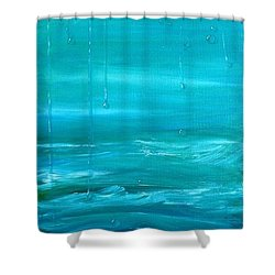 Captain's View Shower Curtain