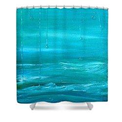 Captain's View Shower Curtain