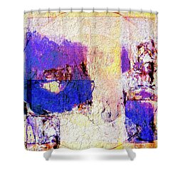 Shower Curtain featuring the painting Captiva by Dominic Piperata