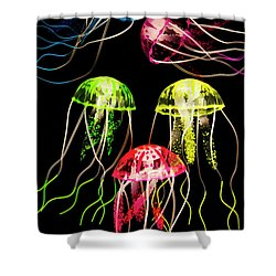 Captivating Connectivity Shower Curtain by Jorgo Photography - Wall Art Gallery