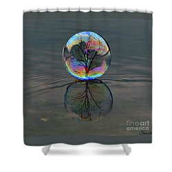 Captured  Shower Curtain