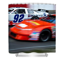 Car 92 Passes The Competition Shower Curtain