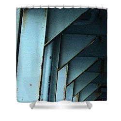 Car Ferry Shower Curtain