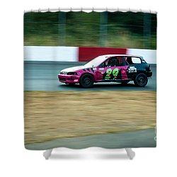 Car Lead This Heat Shower Curtain