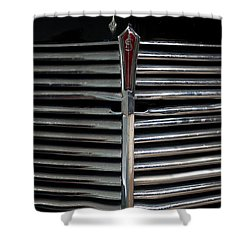 Car Radiator I Shower Curtain by Helen Northcott