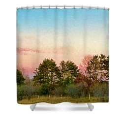 Car Scenery Shower Curtain by Susan Crossman Buscho