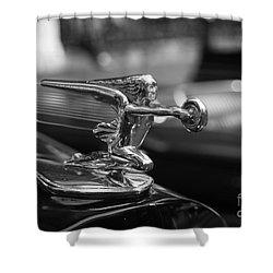 Car Show Ornament Shower Curtain