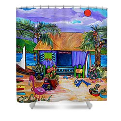 Cara's Island Time Shower Curtain