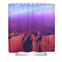 Cardinal Pointe Shower Curtain by Corey Ford