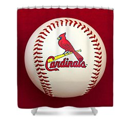 Cardinals Shower Curtain