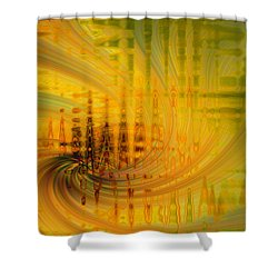 Cardiogram Shower Curtain