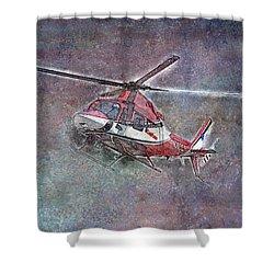 Care Flight Shower Curtain