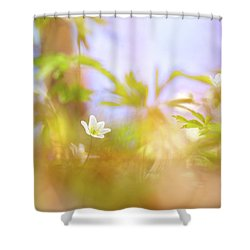 Carefree Spring Shower Curtain