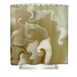 Careless Whispers Shower Curtain