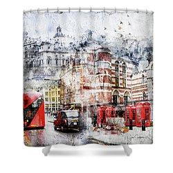 Carey Street Shower Curtain