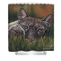 Carez...i Has None Shower Curtain by Sheri Gordon