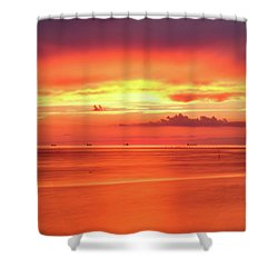 Cargo Line Shower Curtain