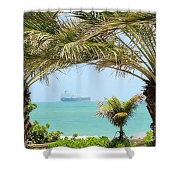 Cargo On Hold Shower Curtain