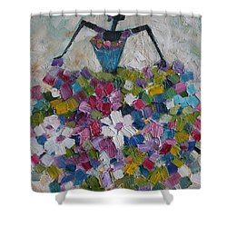 Caribbean Dancer Shower Curtain