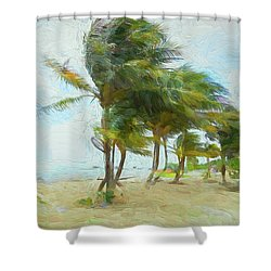 Shower Curtain featuring the photograph Caribbean Getaway by John M Bailey