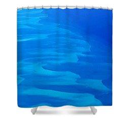 Caribbean Ocean Mosaic  Shower Curtain