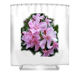 Shower Curtain featuring the photograph Caribbean Oleander by Marie Hicks