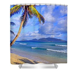 Caribbean Paradise Shower Curtain by Scott Mahon