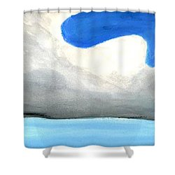 Caribbean Trade Winds Shower Curtain by Dick Sauer