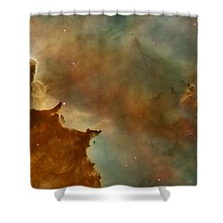 Carina Nebula Details -  Great Clouds Shower Curtain