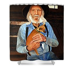 Caring Paws Shower Curtain