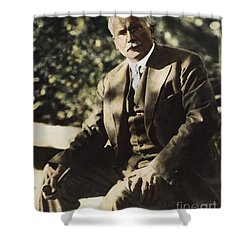Carl G. Jung  Shower Curtain by Granger