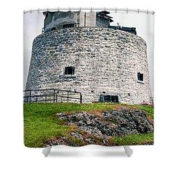 Carleton Martello Tower Shower Curtain