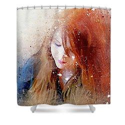 Carley 4-a Shower Curtain