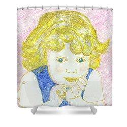 Carley Mae Shower Curtain