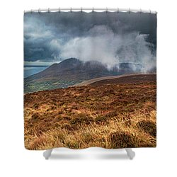 Carlingford Lough Shower Curtain by Marty Garland