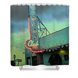 Carlos Club Shower Curtain