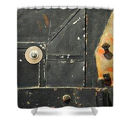 Carlton 10 - Firedoor Detail Shower Curtain