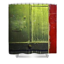 Carlton 6 - Firedoor Abstract Shower Curtain