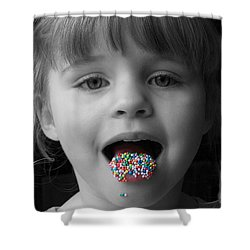 Carly With Hundreds And Thousands Shower Curtain