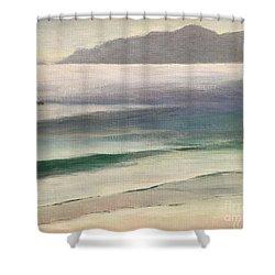 Carmel Beach Shower Curtain