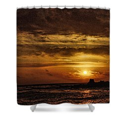 Carmel Sunset Shower Curtain