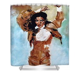Carmen Amaya Shower Curtain