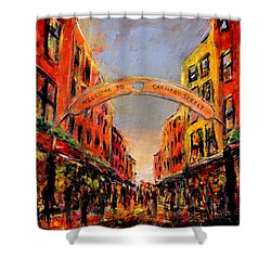 Carnaby Street London Shower Curtain