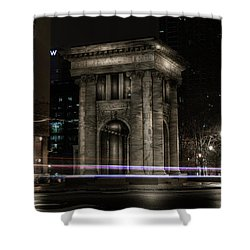 Carnegie Monument Shower Curtain