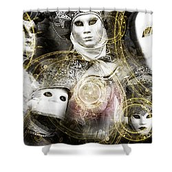 Shower Curtain featuring the photograph Carnevale Venezia by John Rizzuto